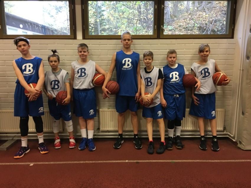 Ynnin C-poikia runsaasti mukana Biddy Basket -leirillä!