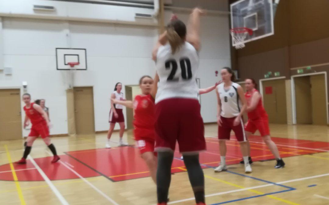 Naisten edustusjoukkue ilotteli kaksi voittoa Jyväskylän turnauksesta!
