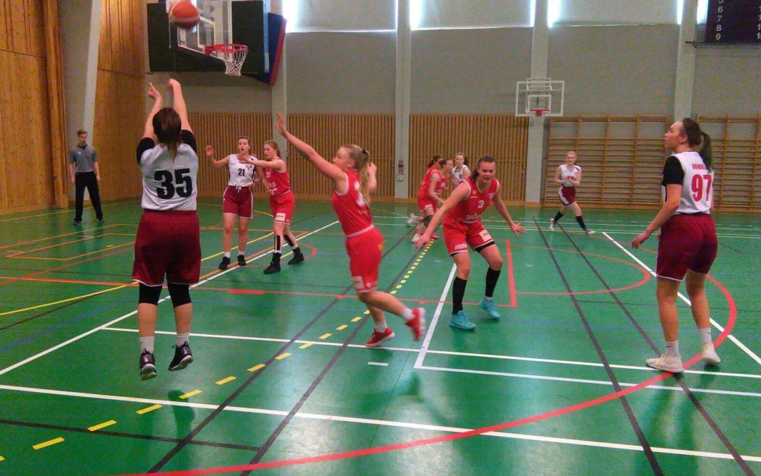 """AB-tytöt kohtasi sarjakakkosen Norrbottenissa – """"Voitosta ei pelattu, mutta kokemusta ja oppia tuleviin koitoksiin!"""""""