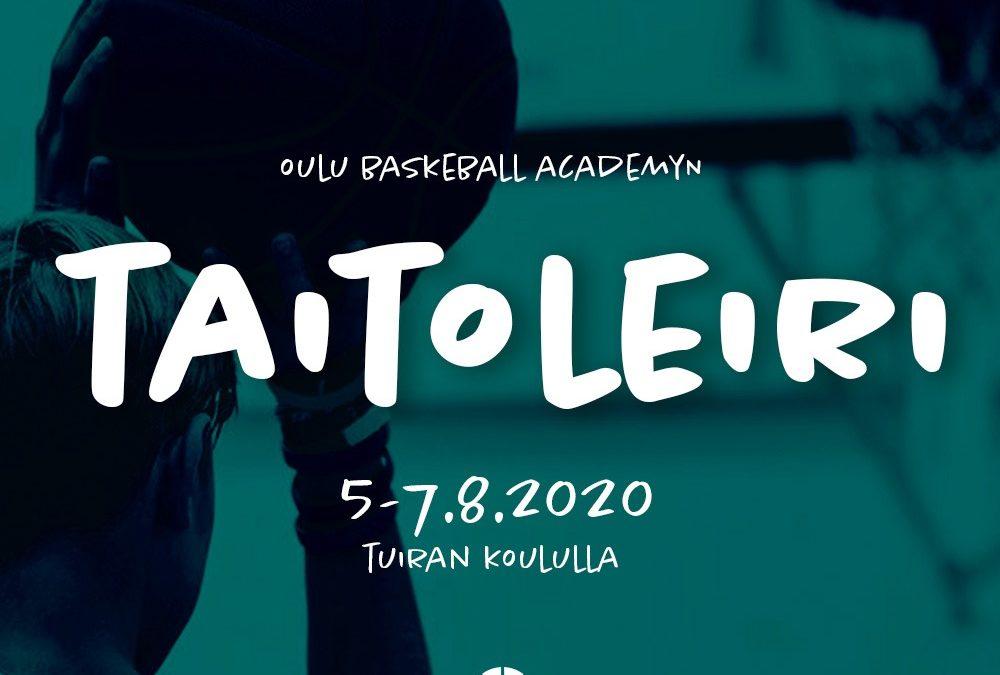 OBA taitoleiri 5.-7.8.2020