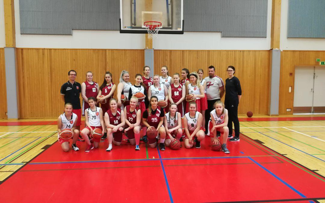 Meidän tarina – A- ja B-tytöt Tallink Tournamentissa 25.-27.8.
