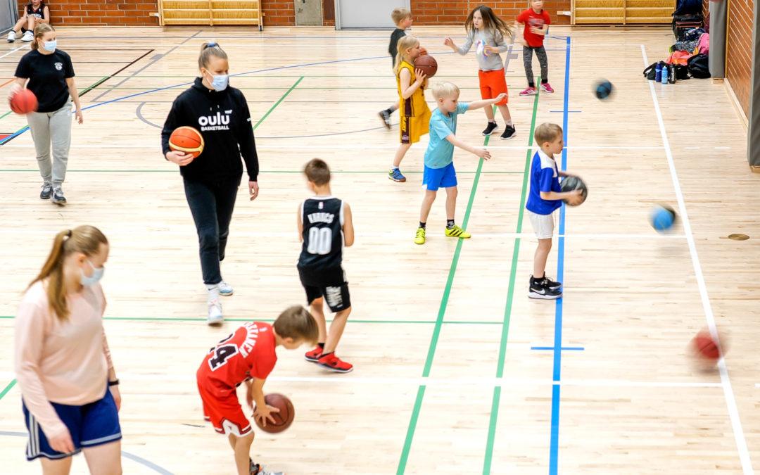 Ministeriöltä tukea meidän tyttökoripallolle!